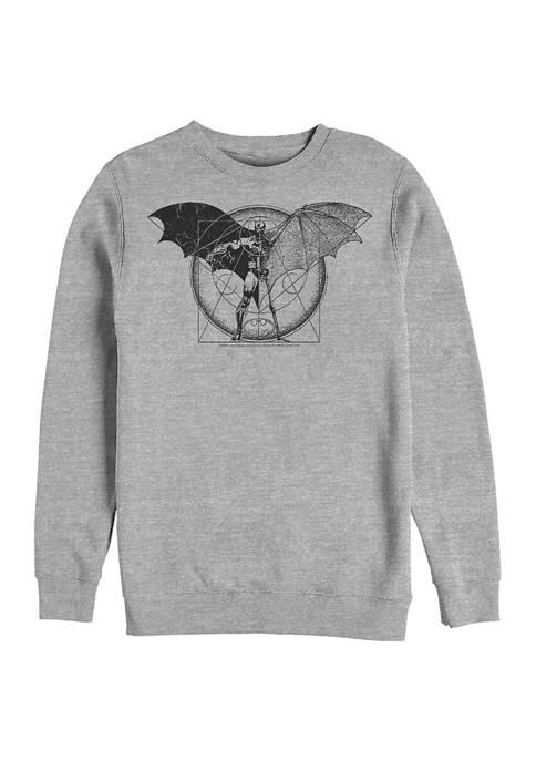 Batman™ Schematic Graphic Crew Fleece Sweatshirt