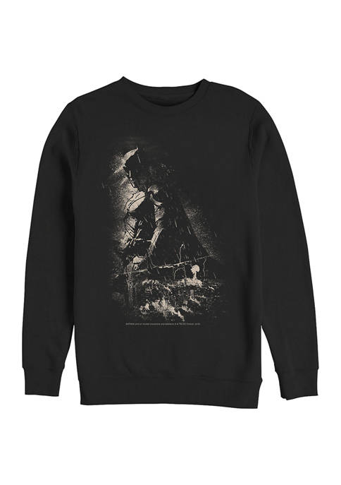 Batman™ Shadow Graphic Crew Fleece Sweatshirt