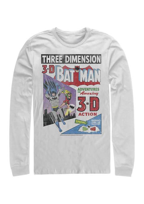 Batman™ 3D Graphic Long Sleeve T-Shirt