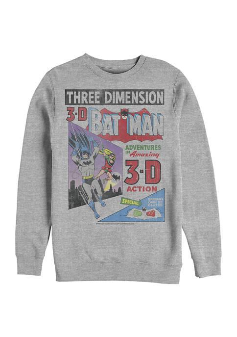Batman™ 3D Graphic Crew Fleece Sweatshirt