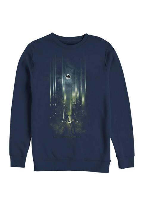 Batman™ Street Lights Graphic Crew Fleece Sweatshirt