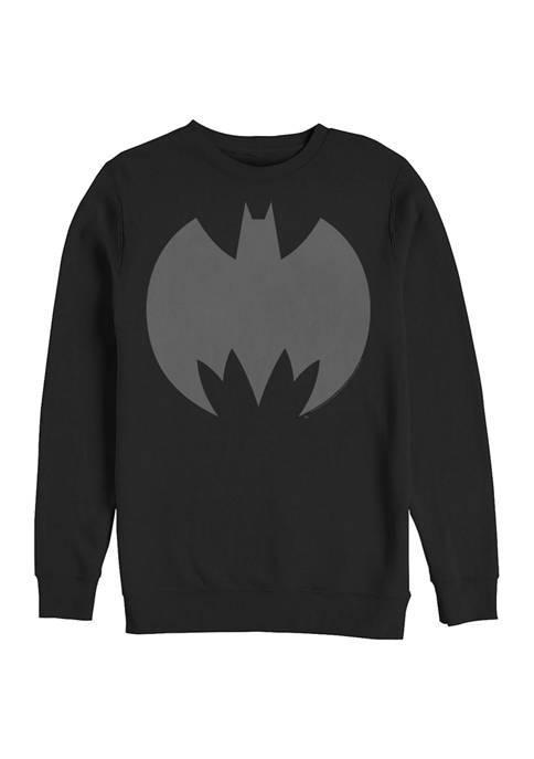 Batman™ Logo Five Graphic Crew Fleece Sweatshirt