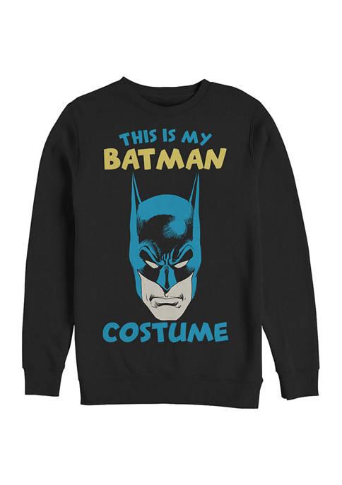 Batman™ Costume Graphic Crew Fleece Sweatshirt
