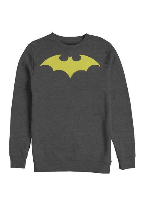 Batman™ Logo Seven Graphic Crew Fleece Sweatshirt