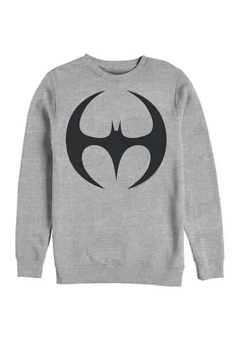 Batman™ Logo Six Graphic Crew Fleece Sweatshirt