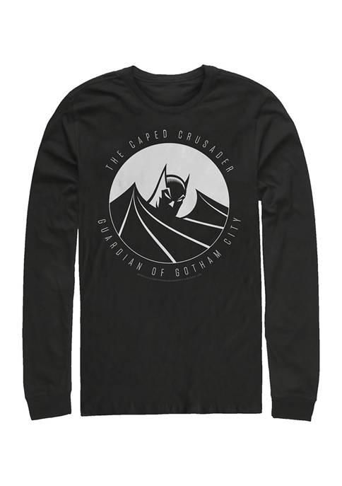 Batman™ Caped Crusader Graphic Long Sleeve T-Shirt