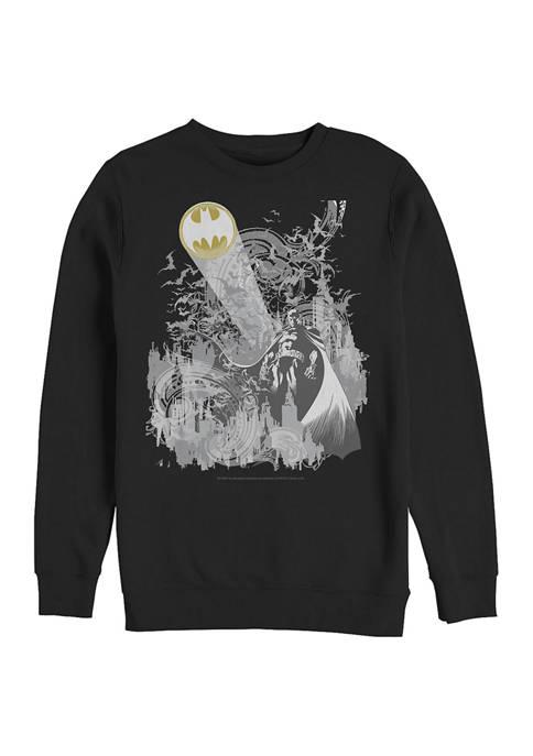 Batman™ City Graphic Crew Fleece Sweatshirt