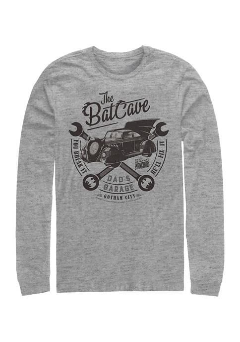Batman™ Garage Graphic Long Sleeve T-Shirt