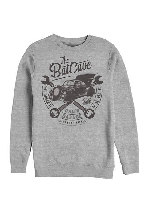 Batman™ Garage Graphic Crew Fleece Sweatshirt