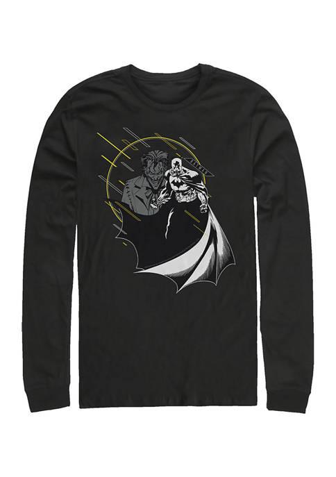 Batman™ Juniors Little Yellow Graphic Long Sleeve T-Shirt