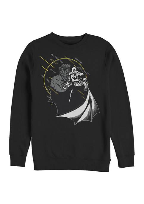 Batman™ Little Yellow Graphic Crew Fleece Sweatshirt