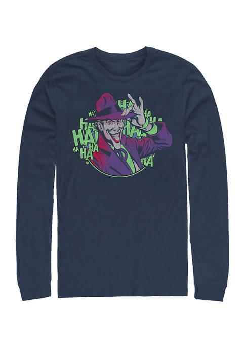 Batman™ Juniors So Serious Graphic Long Sleeve T-Shirt