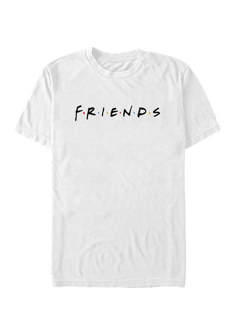 Friends Classic Logo Graphic Short Sleeve T-Shirt