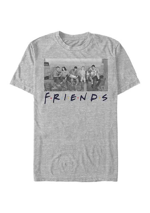 Friends Skyline Graphic Short Sleeve T-Shirt