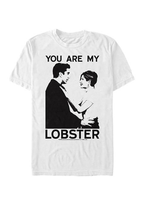 Friends Ross And Rachel Graphic Short Sleeve T-Shirt