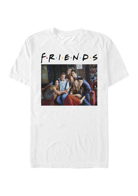Friends Couch Graphic Short Sleeve T-Shirt