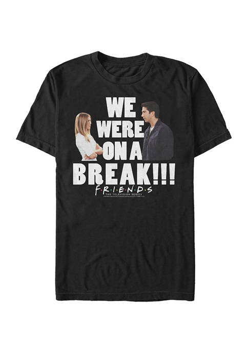 Friends On A Break Graphic Short Sleeve T-Shirt