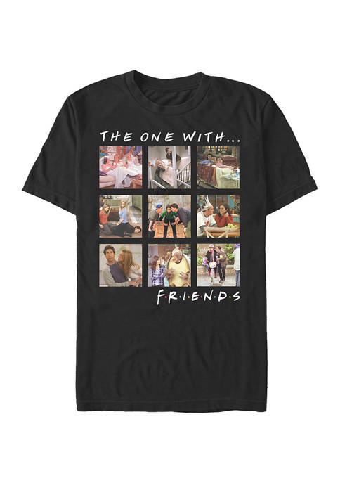 Friends Episode Box Up Graphic Short Sleeve T-Shirt
