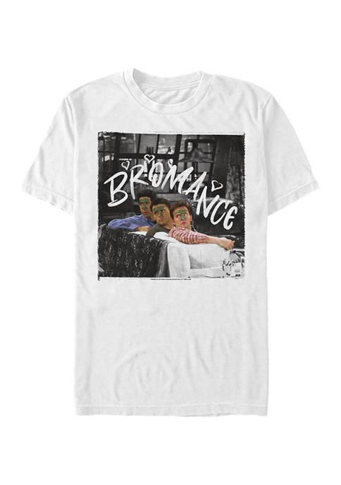 Friends Bromance Graphic Short Sleeve T-Shirt