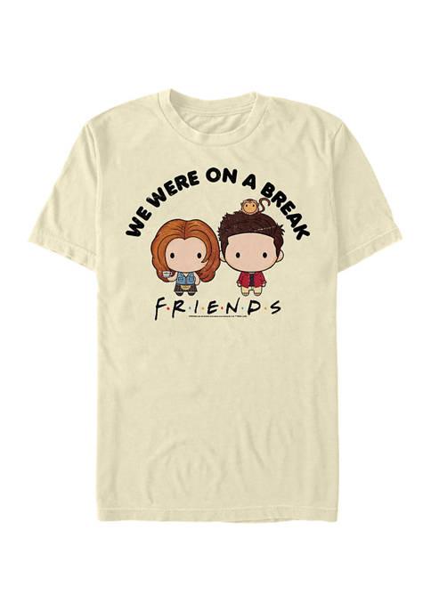 Friends Chibi On Break Graphic Short Sleeve T-Shirt
