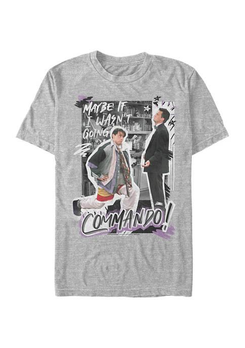 Friends Commando Graphic Short Sleeve T-Shirt