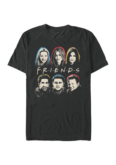 Friends Head Graphic Short Sleeve T-Shirt