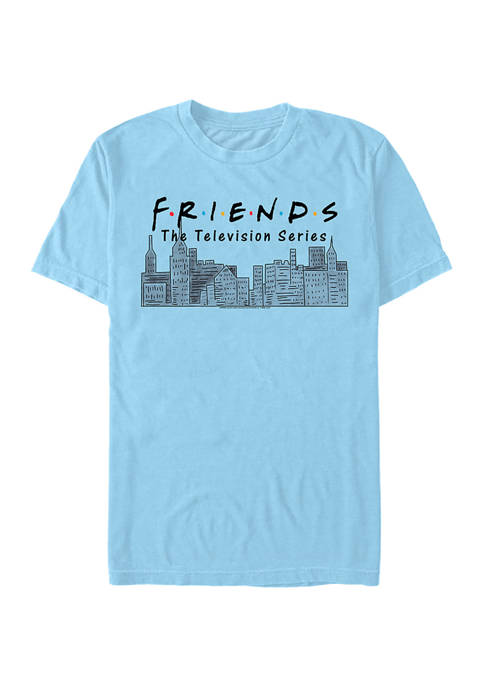 Friends Years Showing Graphic Short Sleeve T-Shirt