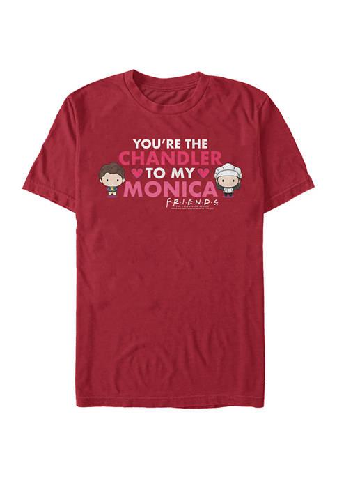 Monica Chandler Love Graphic Short Sleeve T-Shirt