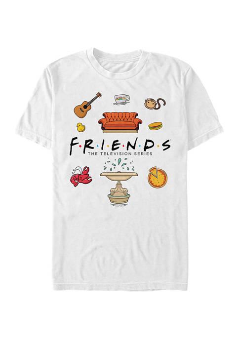 Chibi Jumble Graphic Short Sleeve T-Shirt