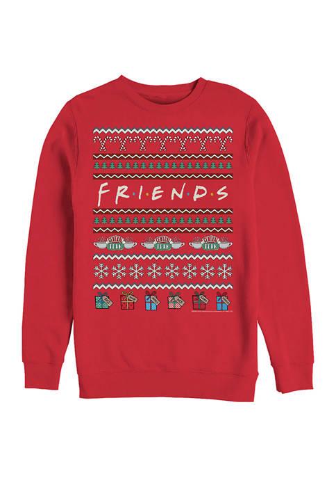 Fifth Sun™ Friends Fleece Crew Neck Sweater