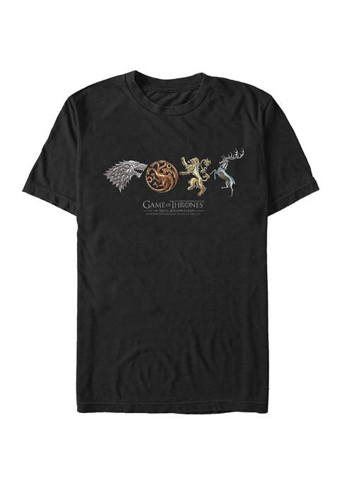 Game of Thrones Sigils and Logo Lockup Graphic