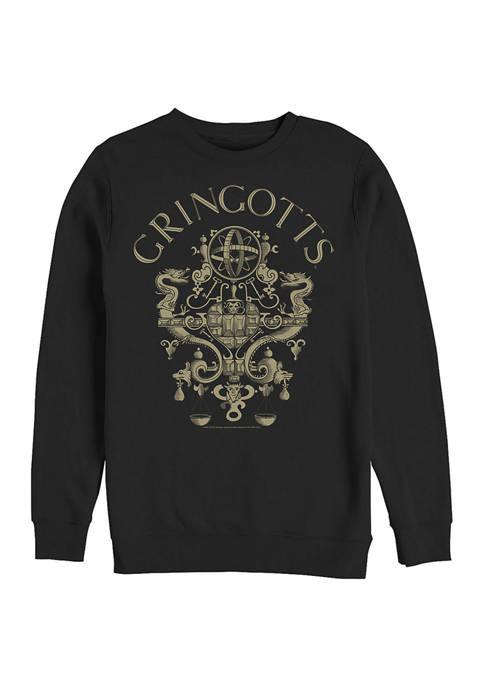 Harry Potter™ Harry Potter Gringotts Logo Crew Fleece