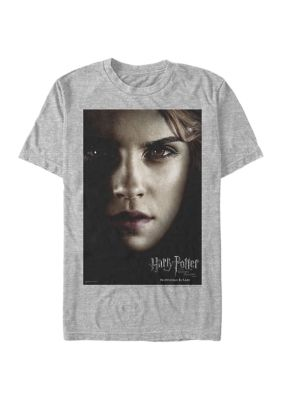 Harry Potter Mens Harry Potter Hermione Poster Graphic T-Shirt