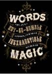 Harry Potter Humble Words Fleece Graphic Hoodie