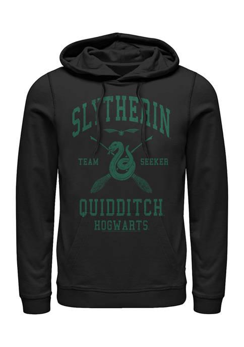 Harry Potter Slytherin Quidditch Seeker Fleece Graphic Hoodie