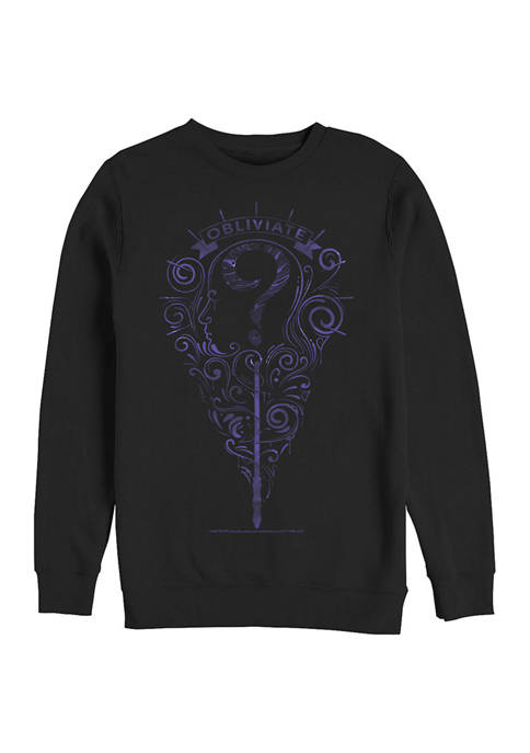 Harry Potter™ Harry Potter Obliviate Crew Fleece Graphic