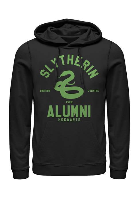 Harry Potter Slytherin House Alumni Fleece Graphic Hoodie