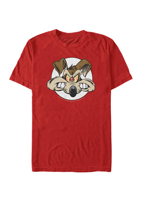 Looney Tunes™ Wile Big Face Short Sleeve Graphic