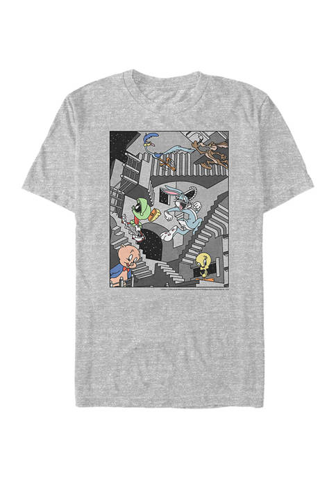 Looney Tunes™ Stairways Graphic Short Sleeve T-Shirt