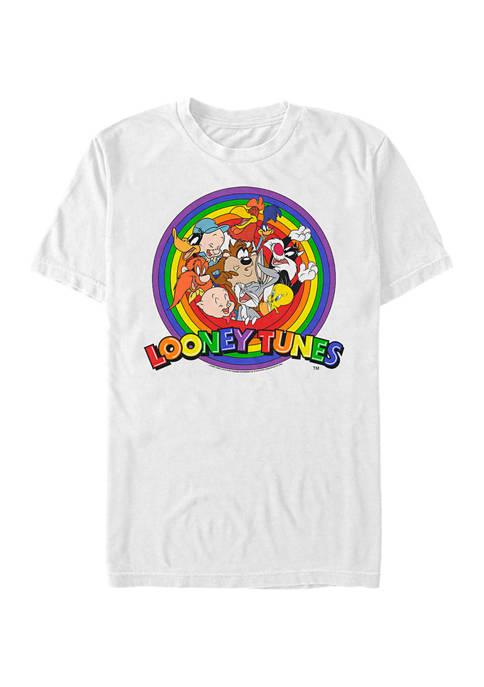 Looney Tunes™ Rainbow Characters Logo Short Sleeve Graphic
