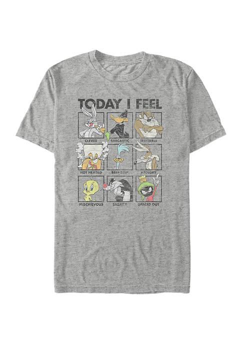 Looney Moods Graphic Short Sleeve T-Shirt