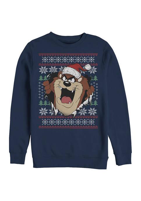 Looney Tunes™ Looney Tunes Fleece Crew Neck Sweater