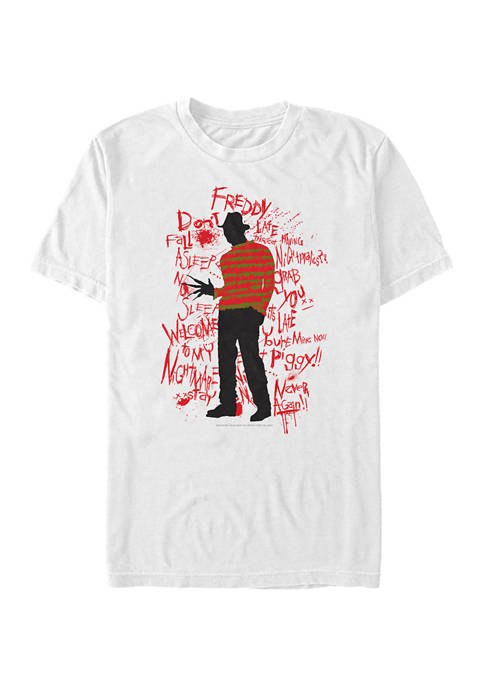 A Nightmare on Elm Street Short Sleeve T-Shirt