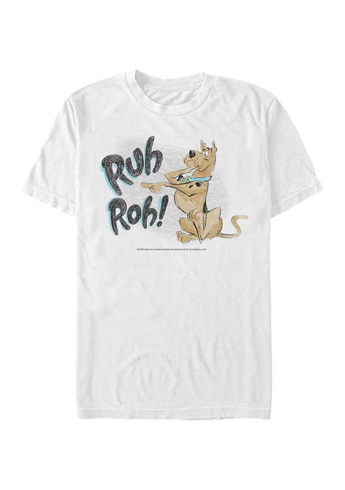 Scooby Doo™ Ruh Roh Sketch Graphic Short Sleeve