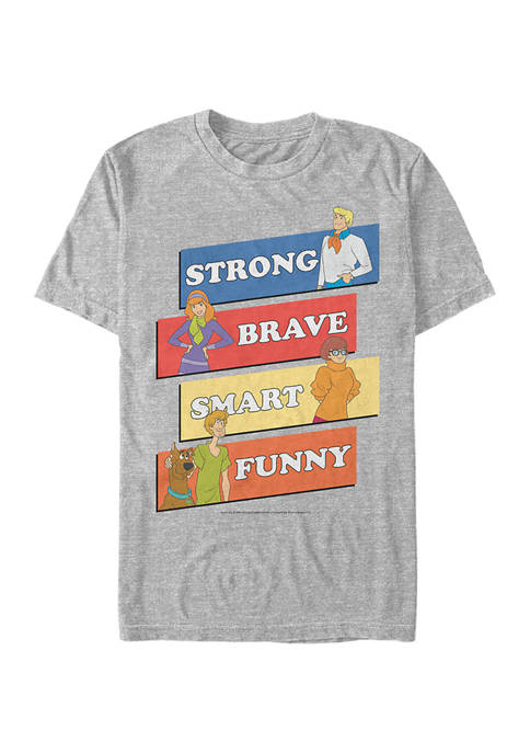 Scooby Doo™ Core Cast Graphic Short Sleeve T-Shirt