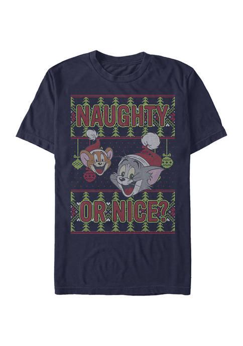 Cartoon Network Tom and Jerry Short Sleeve T-Shirt