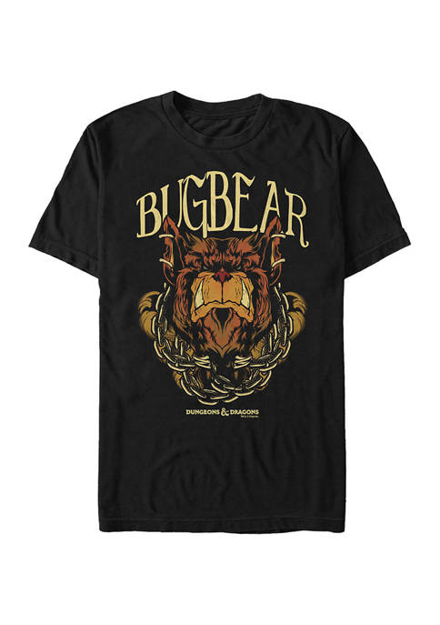 Bugbear Monster Icon Graphic T-Shirt