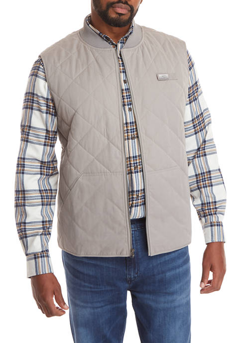 Big & Tall Quilted Vest
