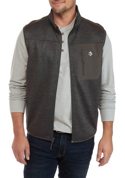 Chestnut Mountain Fleece Sweater Vest