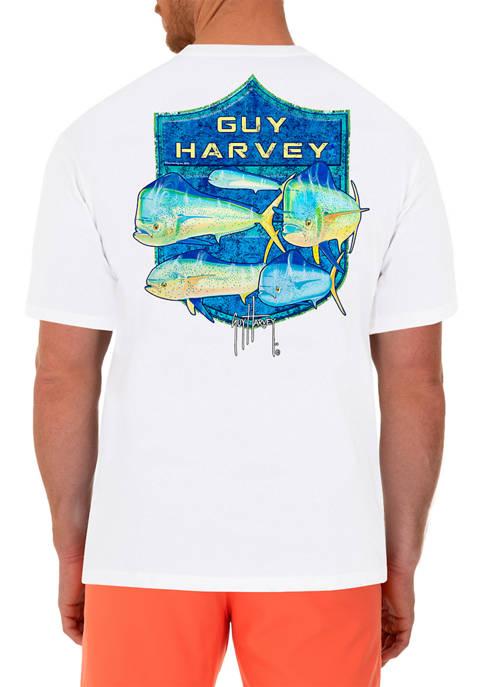 Mens Short Sleeve Shield Graphic T-Shirt